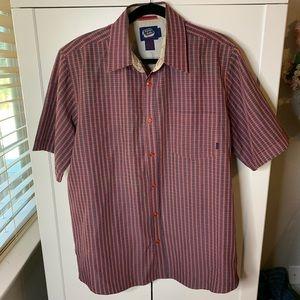 Men's Billabong Plaid Camp Shirt